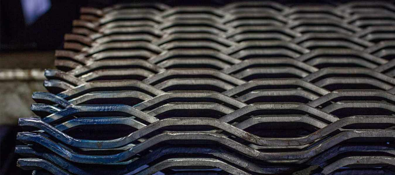 petek desenli genişletilmiş metal