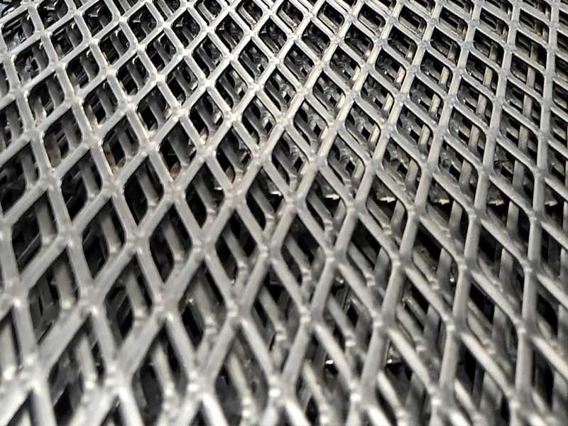 baklava desenli genişletilmiş metal